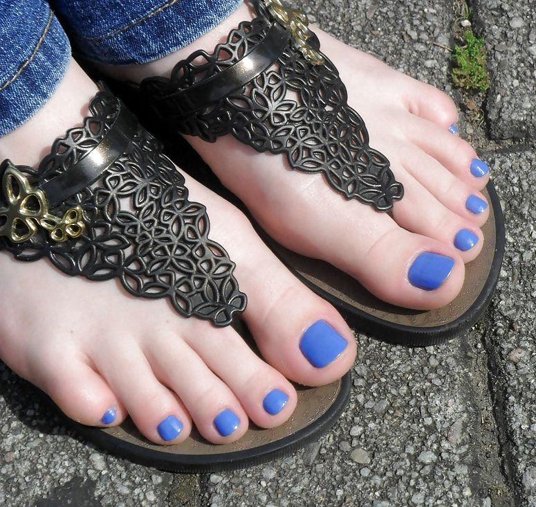 Mi follamiga de los pies blanditos