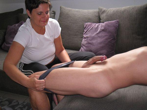madura mamando