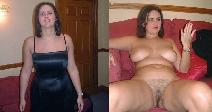vestidas y desnudas amas de casa