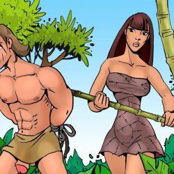 Tarzan follado por trans amazónica