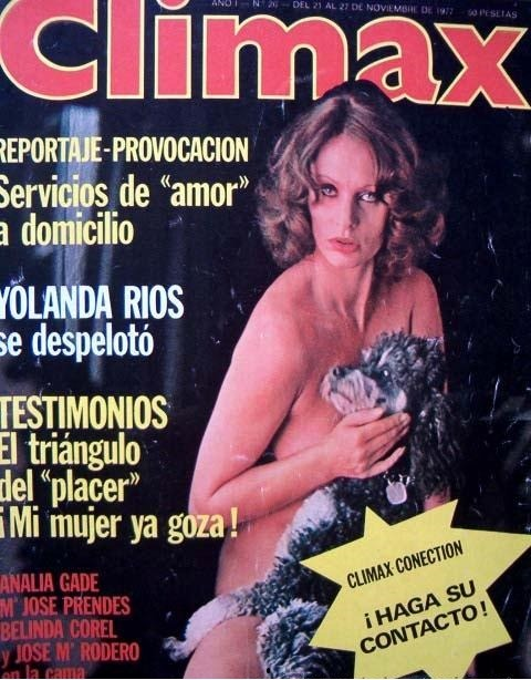 Revista Climax y los relatos eróticos