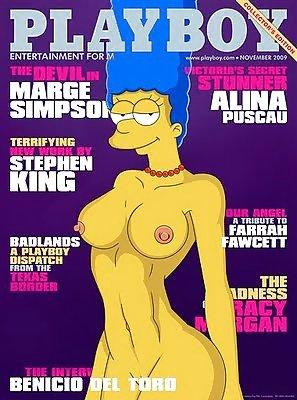 Historias calientes en los Simpson Porno